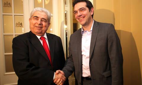 Τσίπρας για Χριστόφια: Αποχαιρετούμε έναν γνήσιο ηγέτη του κυπριακού λαού