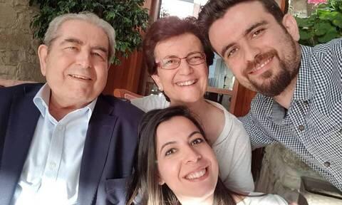 Δημήτρης Χριστόφιας: Το συγκινητικό «αντίο» του γιου του