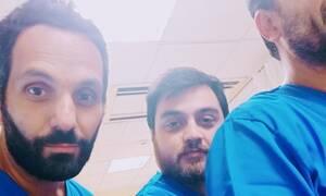 Τρεις γιατροί στέλνουν μήνυμα υπέρ της Μακεδονίας  μέσα από το νοσοκομείο
