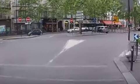 Οργή στη Γαλλία: Οδηγός παραλίγο να πατήσει τυφλό - Έδειρε τον συνοδό του (vid)