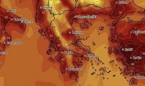 Καιρός: Καρέ - καρέ η άνοδος της θερμοκρασίας και ο ευρωπαϊκός καύσωνας (video)
