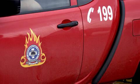 Φωτιά στη Λ. Μαραθώνος