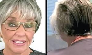 Φορούσε μέικ απ για 50 χρόνια ανελλιπώς - Δείτε τι έγινε όταν το έβγαλε! (vid)