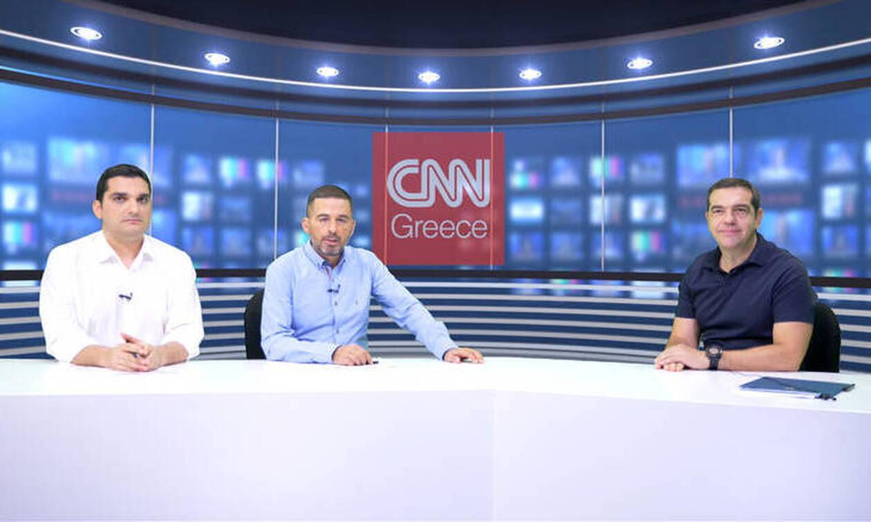 Αλ. Τσίπρας στο CNN Greece: Η ΝΔ ετοιμάζει Αρμαγεδδώνα