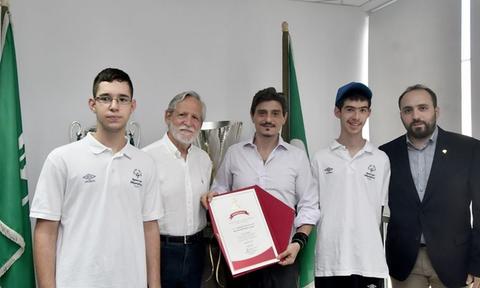 Τα Special Olympics Hellas βράβευσαν τον Δημήτρη Γιαννακόπουλο (photos+video)