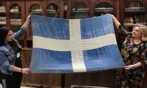 Η ιστορία του Αυστραλού στρατιώτη και της ελληνικής σημαίας