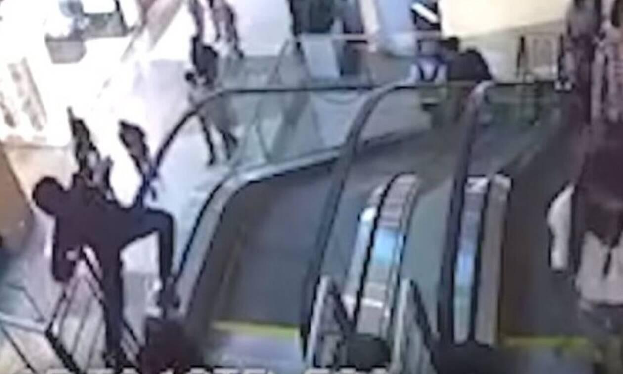 Βίντεο - σοκ: Δυστύχημα σε εμπορικό κέντρο - 12χρονος σκοτώθηκε στις κυλιόμενες