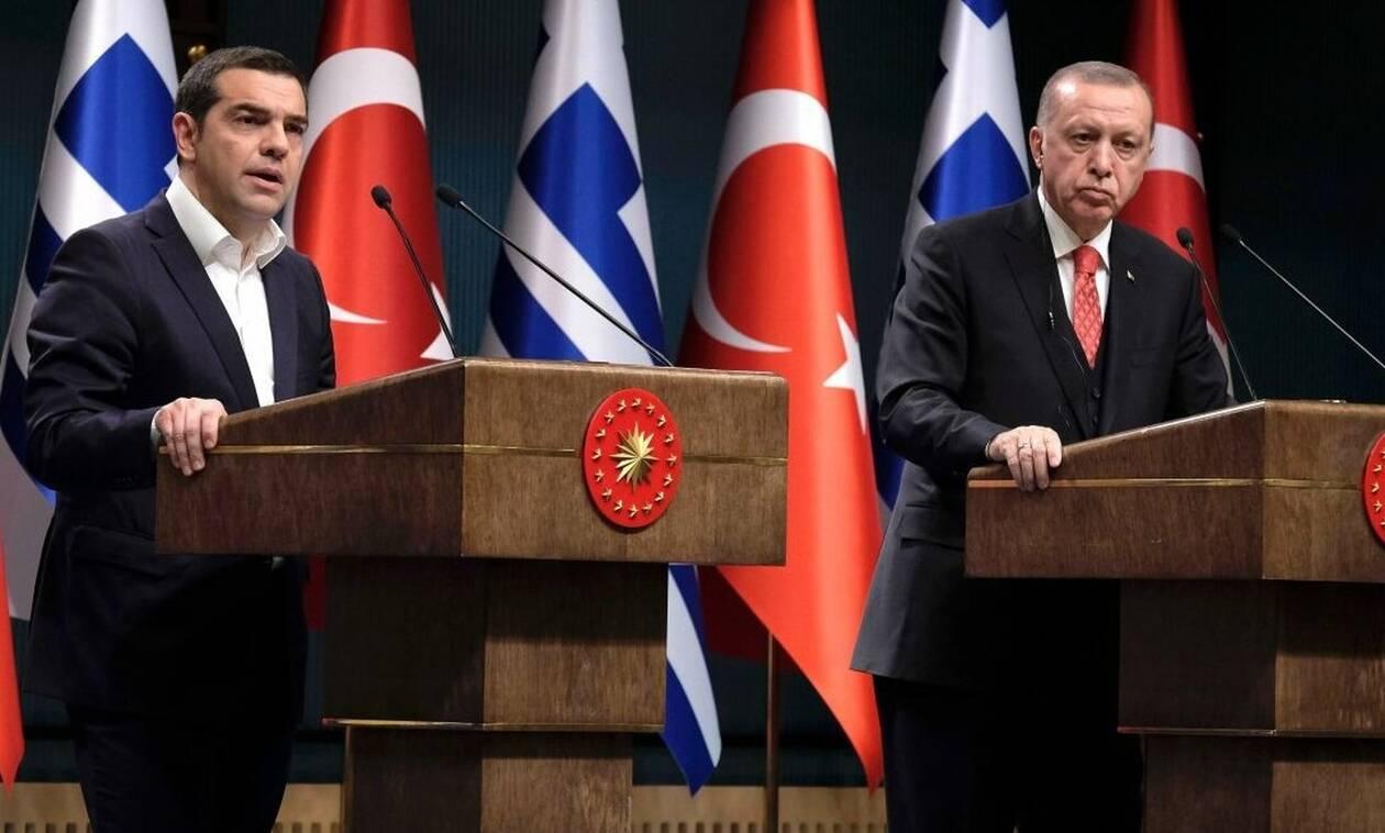 Ερντογάν σε Τσίπρα: Λέγε ό,τι θες, εμείς θα κάνουμε γεωτρήσεις