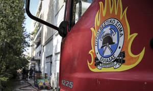 Φωτιά στο Νέο Βουτζά: Κάηκε αποθήκη