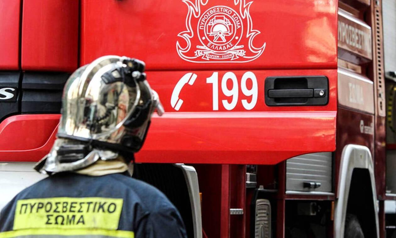 Υπό μερικό έλεγχο η φωτιά στην Κυρά Βρύση Κορίνθου (pics+vids)