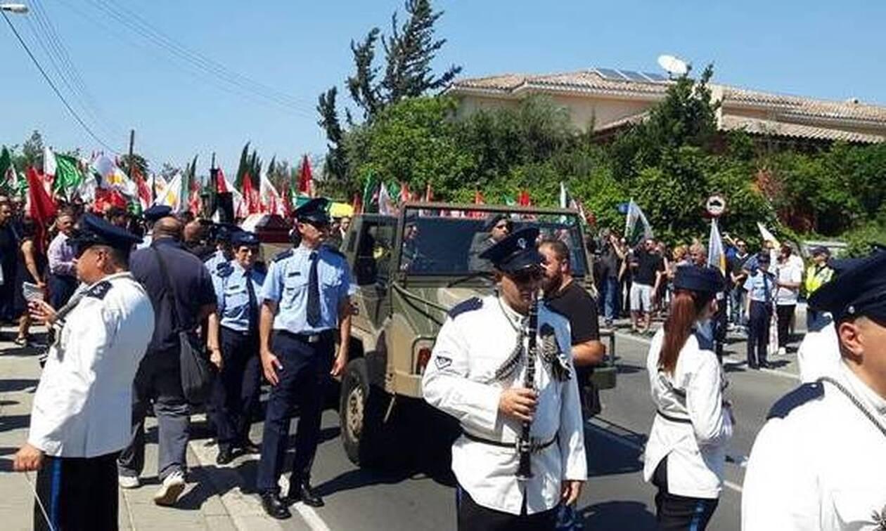 Κύπρος: Το «τελευταίο αντίο» στον Δημήτρη Χριστόφια