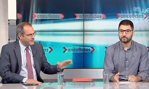 Debate Ηλιόπουλου – Ζούλα για την τηλεμαχία των πολιτικών αρχηγών: Υψηλοί τόνοι και εκατέρωθεν βέλη