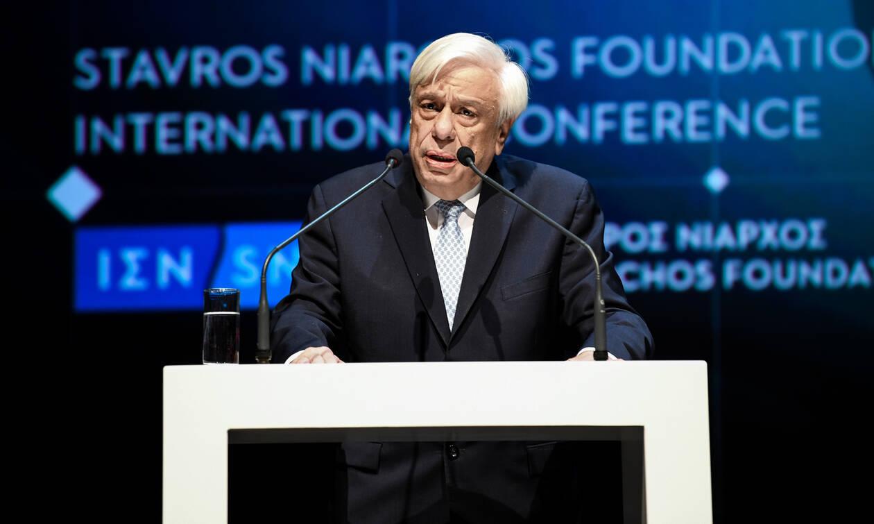 Παυλόπουλος: «Οι Έλληνες είμαστε φτιαγμένοι από την Ιστορία μας, να επιτυγχάνουμε μεγάλους στόχους»
