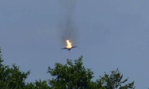 Καρέ καρέ η διάσωση του πιλότου του Εurofighter