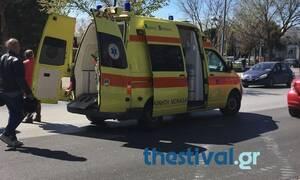 Θεσσαλονίκη: Τραυματισμός 34χρονου ποδηλάτη - Τον παρέσυρε αυτοκίνητο