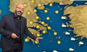Καιρός: Η ανάλυση του Σάκη Αρναούτογλου για τη θερμοκρασία στην Κρήτη και τον καύσωνα στην Ευρώπη
