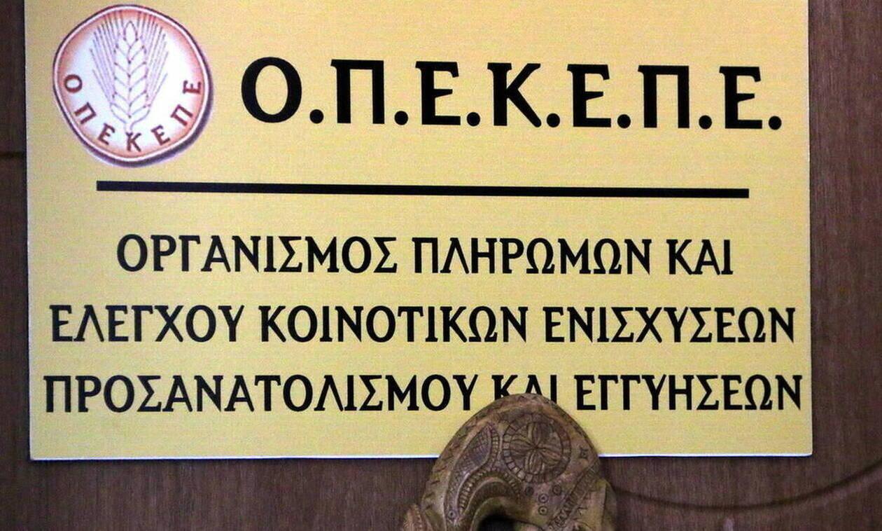 ΟΠΕΚΕΠΕ: Πληρωμές σχεδόν 2 εκατ. ευρώ σε 86 δικαιούχους