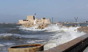 Καιρός τώρα: Σαρώνουν τα μελτέμια! Μέχρι 8 μποφόρ στο Αιγαίο - Δείτε πού και ποτέ θα βρέξει (pics)