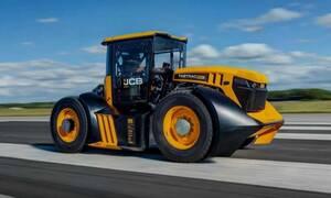 Δείτε πόσα πιάνει το πιο γρήγορο τρακτέρ του κόσμου