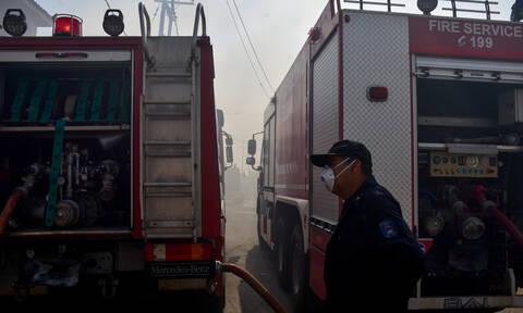 Συναγερμός στο Μαρούσι: Δύο φωτιές ξέσπασαν μέσα σε λίγα λεπτά