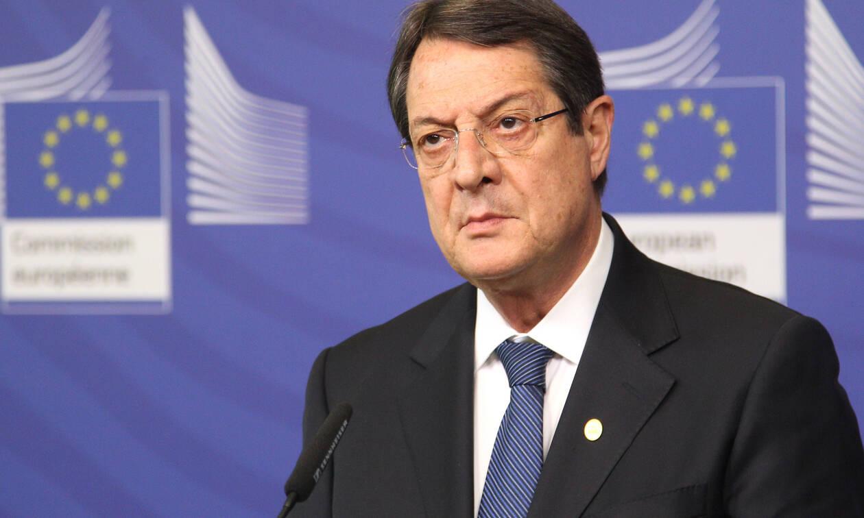 Κύπρος: Επιστολή Αναστασιάδη σε Γκουτέρες για επανέναρξη των συνομιλιών