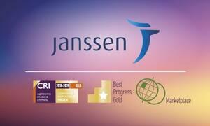 Janssen Ελλάδος - Χρυσό Βραβείο και Διάκριση στον Εθνικό Δείκτη Εταιρικής Ευθύνης CR Index