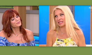 Η Ελένη «στρίμωξε» την Συνατσάκη και… ξίνισε τη μούρη της! (Video)