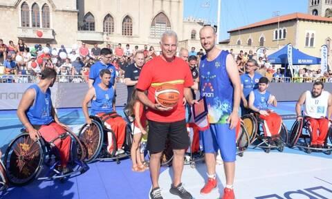 GalisBasketball3on3: Το μπάσκετ ταξιδεύει στη Ρόδο με τον ΟΠΑΠ