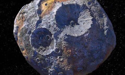 Ο «χρυσός αστεροειδής» που θα μπορούσε να κάνει όλους τους κατοίκους της γης εκατομμυριούχους