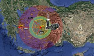 Γενί Σαφάκ: Σενάρια πολέμου - Οι τουρκικοί πύραυλοι μπορούν να πλήξουν μέχρι και την Αθήνα