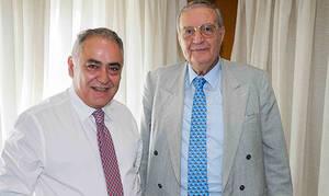 Εκλογές 2019: Ο υποψήφιος βουλευτής Αλέξανδρος Μωραϊτάκης στο Ε.Ε.Α