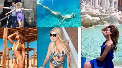 Οι πρώτες διακοπές των Ελλήνων celebrities! (photos)