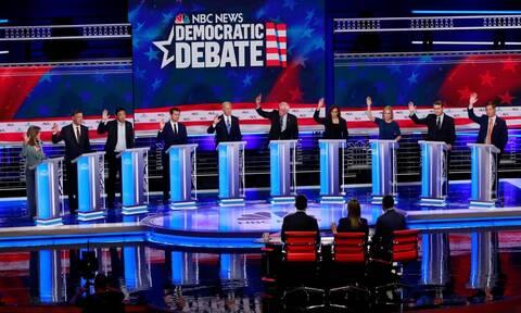 ΗΠΑ: Ρεκόρ τηλεθέασης για το δεύτερο ντιμπέιτ των Δημοκρατικών