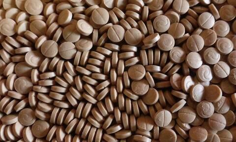 Η μεγαλύτερη ποσότητα ναρκωτικών στην Ελλάδα - Εικόνες ΣΟΚ από τα εκατομμύρια χάπια των τζιχαντιστών
