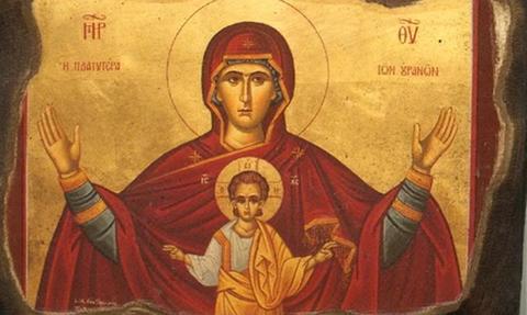 Η σπάνια εικόνα της Παναγίας: Εσείς την έχετε ξαναδεί;