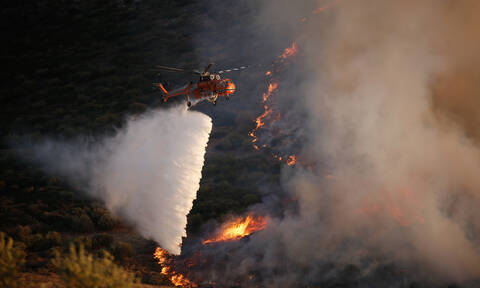 Φωτιά ΤΩΡΑ: Μεγάλη πυρκαγιά στη Φυλή - Επί τόπου ισχυρές πυροσβεστικές δυνάμεις