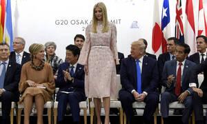 Γιατί η Ιβάνκα Τραμπ ένιωσε πολύ άβολα στη Σύνοδο των G20