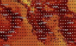 Καιρός: Καρέ - καρέ η θερμή εισβολή! Ερχεται διπλός καύσωνας πριν και μετά τις εκλογές (photos)