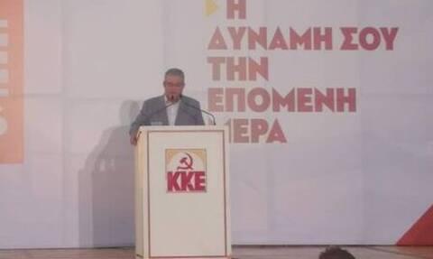 Εκλογές 2019 - Κουτσούμπας: Tο ΚΚΕ είναι δίπλα στο λαό και στη νεολαία