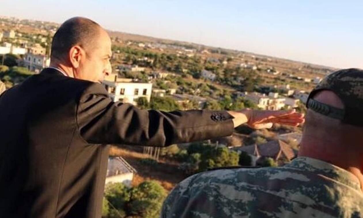 Ο «υπουργός Εξωτερικών» του ψευδοκράτους επισκέφθηκε την Αμμόχωστο