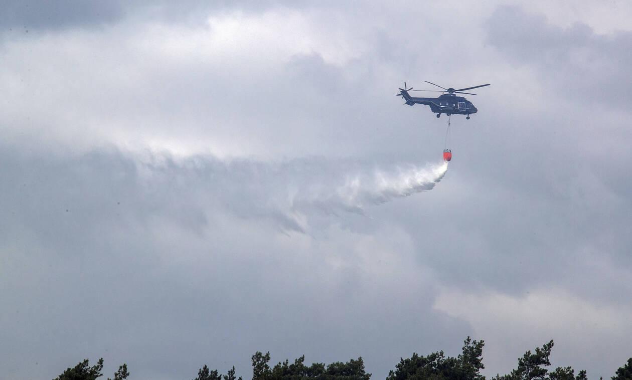 Πύρινη «κόλαση» στη Γερμανία: Μεγάλη φωτιά κοντά σε στρατόπεδο με πυρομαχικά – Εκκενώθηκαν πόλεις