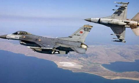 Νέες προκλήσεις στο Αιγαίο: Έξι εμπλοκές με οπλισμένα τουρκικά F-16