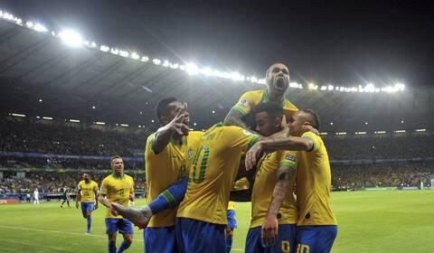 Στον τελικό του Κόπα Αμέρικα η Βραζιλία, απέκλεισε την Αργεντινή