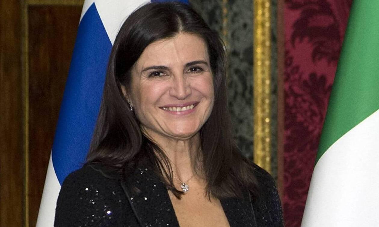 Новый посол Греции в России Тасия Афанасиу вручила верительную грамоту Владимиру Путину