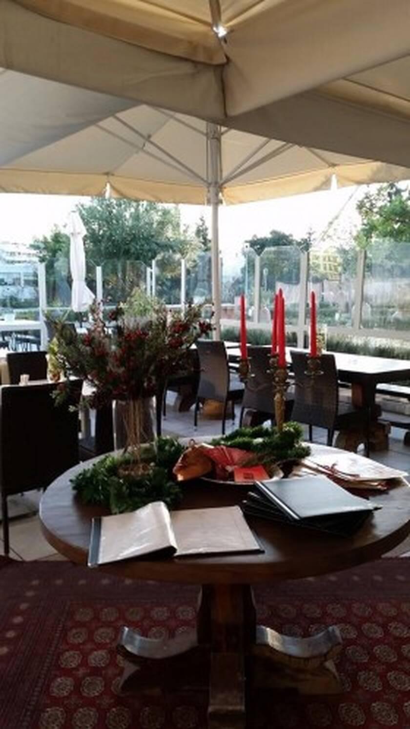 Καφέ-εστιατόριο «ILISSIA» στο Βυζανιντό Μουσείο