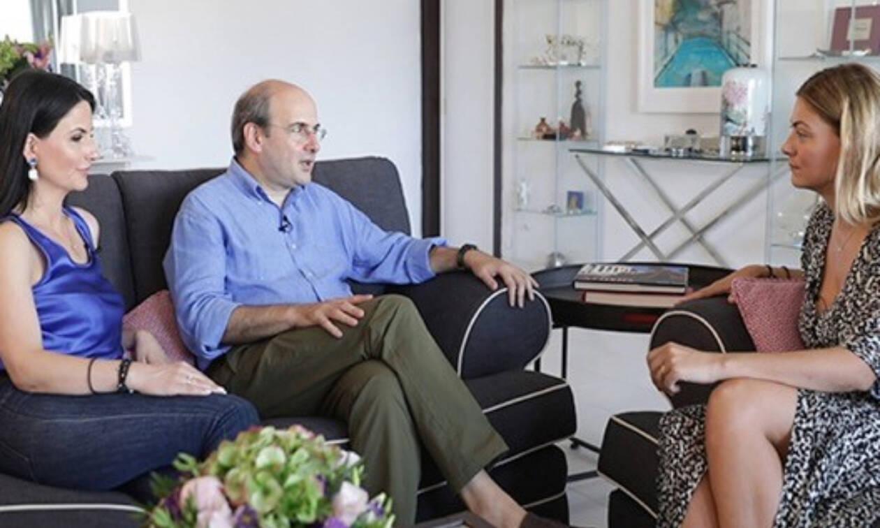 Κωστής Χατζηδάκης - Πόπη Καλαϊτζή: Μου άνοιξαν το σπίτι τους και την καρδιά τους (vid)
