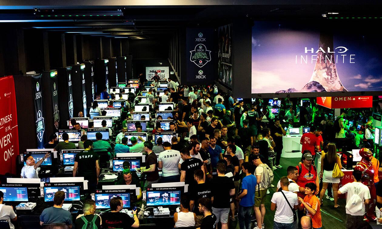 Ρεκόρ με 10.000 gamers στο Xbox Arena Festival Sponsored by Vodafone