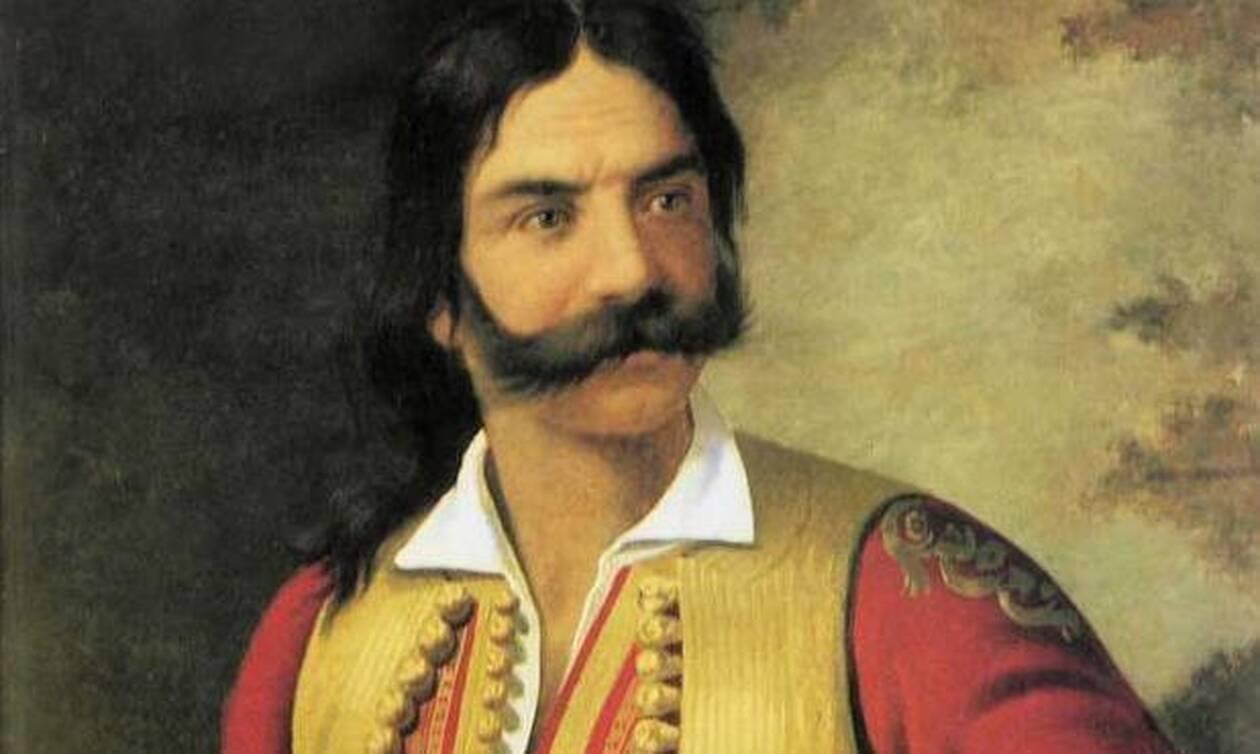 Σαν σήμερα το 1822 σκοτώθηκε ο οπλαρχηγός του '21 Κυριακούλης Μαυρομιχάλης