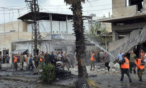 Συρία: Πολύνεκρη επίθεση βομβιστή-καμικάζι με μοτοσικλέτα στη Σουέιντ