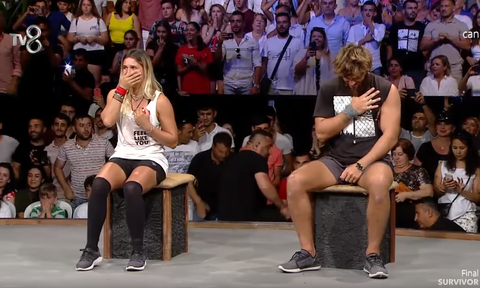 Video: Η σοκαριστική αντίδραση της Σεντά όταν έμαθε πως έχασε στο Survivor